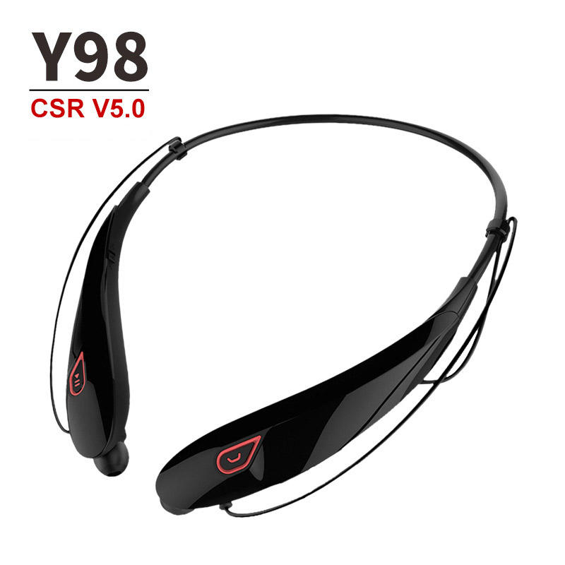Sports running stereo headphone hanging neck long standby wireless bluetooth headset