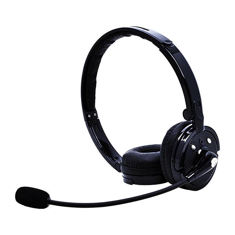 Bodio M20C Dual Ear headset easy connect bundle foldable bluetooth headset