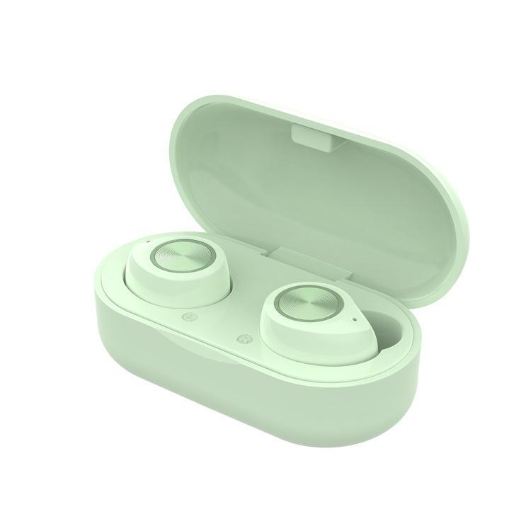BT 5.0 New TW60 Macaron True Stereo Wireless Headphone Bluetooths Headset TWS Earphones For Gift Market