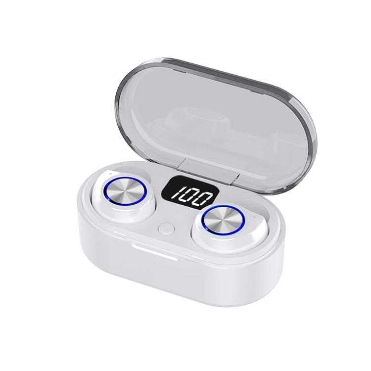 New Arrival TW80 Private Model Wireless Bluetooth Earphone Low Display Touch Auto Pairing Earbuds