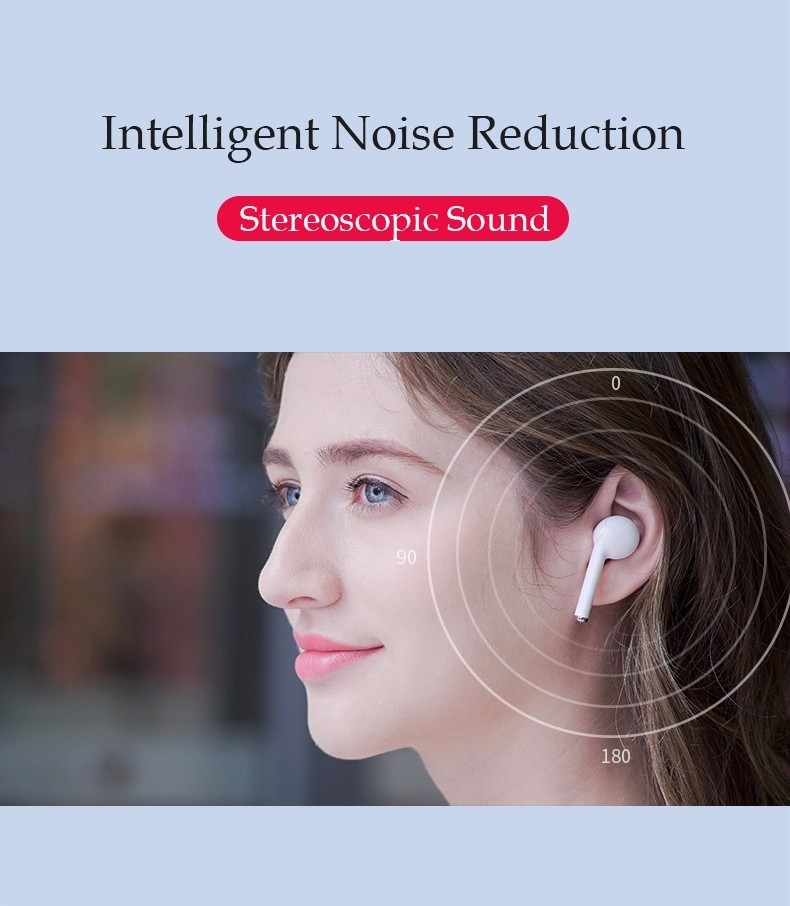 product-TW50 BT Headphone Earphone Wireless Sport Blue tooth 50 Noise Reduction Gaming Earbuds Call