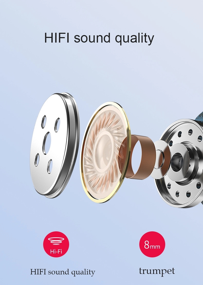 product-Bodio Electronic-TW50 BT Headphone Earphone Wireless Sport Blue tooth 50 Noise Reduction Gam