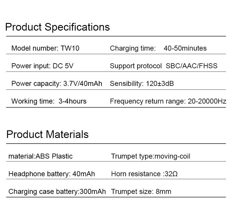 product-Mini TWS earbuds-Bodio Electronic-img