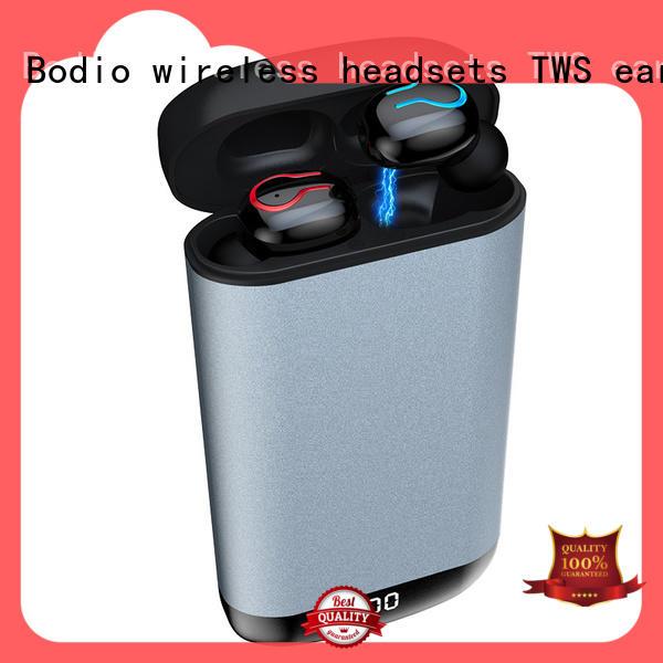 Top wireless earplug earbuds cellphone factory