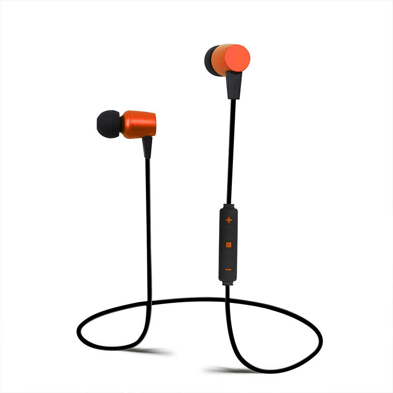 Hot Selling In-ear Bluetooth  Headset Magnet Sports Multicolor