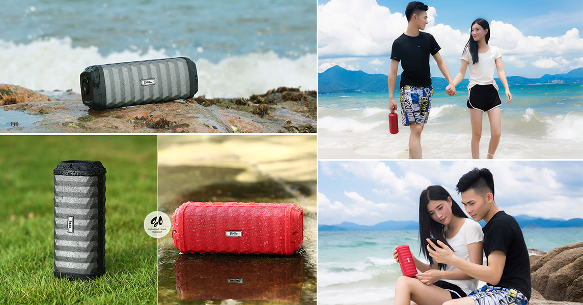 Bodio Electronic-Music Bluetooth Speaker | Bd-bs-008 4000mah Li-ion Battery Aux