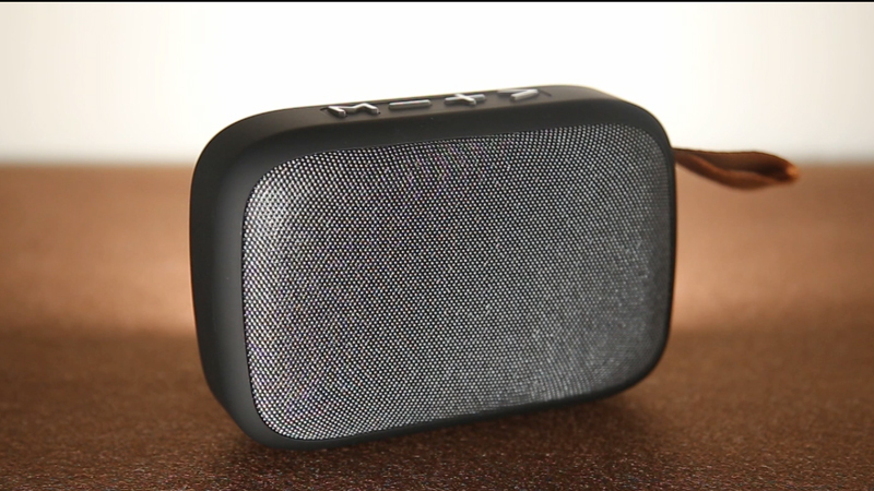 Bluetooth Speaker Portable Fabric Net Multicolor ABS Rubber Oil and Cloth Net Call TF USB FM BD-BS-032-Bodio Electronic