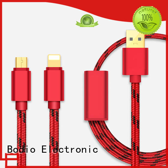 Custom air all data cable Bodio Electronic blue