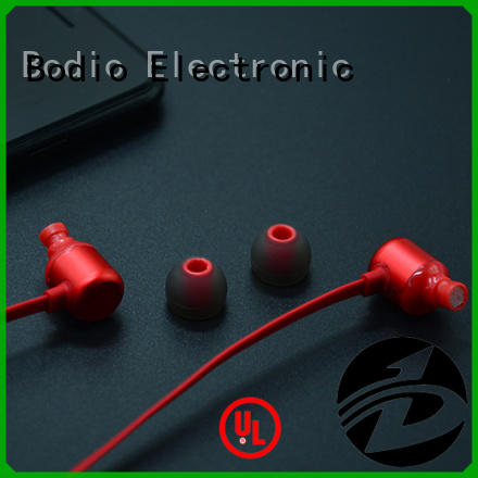 Bodio Electronic excellent wired earphone factory for movie