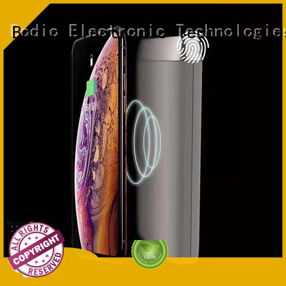 input noble portable wireless phone charger iphone touchspot Bodio Electronic Brand
