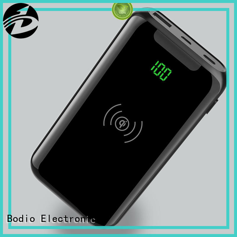 Bodio Electronic Brand protect micro portable wireless phone charger charger