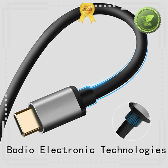 white apple data cable Bodio Electronic Brand