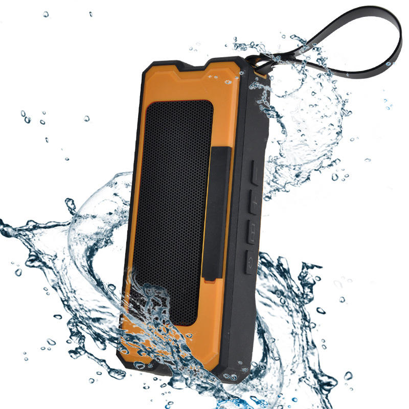 Portable  IPX7 Waterproof Dustproof Bluetooth Speaker Simple Design