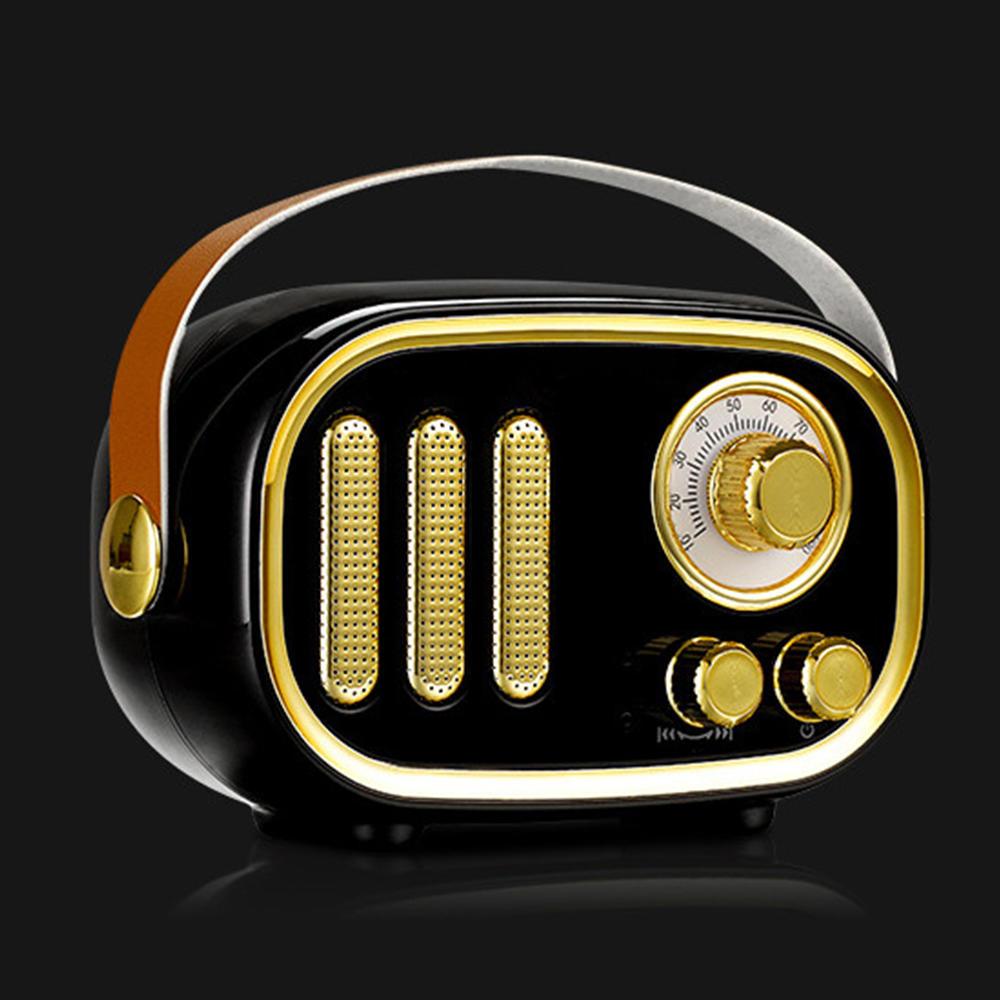 Vintage Bluetooth Speaker Outdoor ABS cloth Portable Wireless Bluetooth Speaker