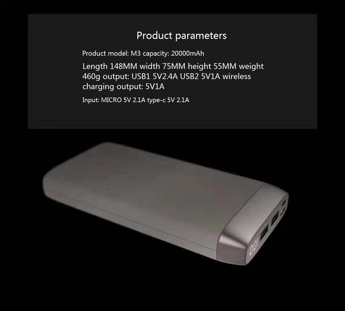 Bodio Electronic-Wireless Power Bank, Cell Phone Power Bank Manufacturer   Portable Power Bank-2