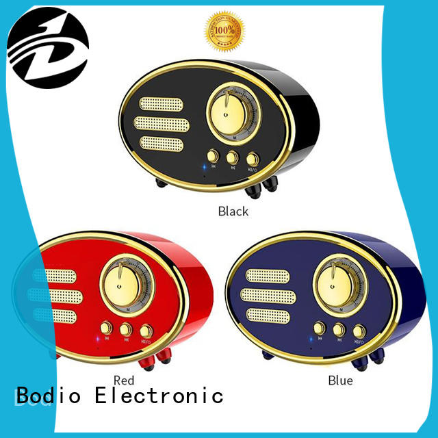 Bodio Electronic adjustable good portable speakers long-term-use for mobile phone